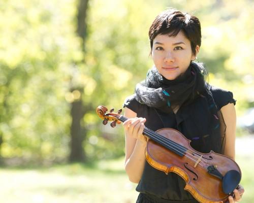 Pala García, violin